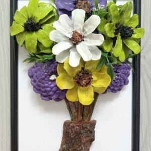 """""""Цветя"""", ръчна изработка"""
