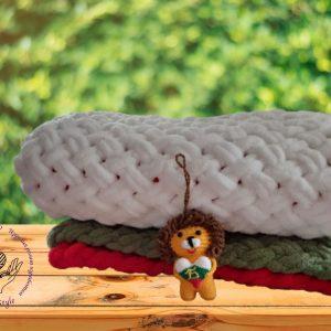 Бебешко одеялце- трибагреник