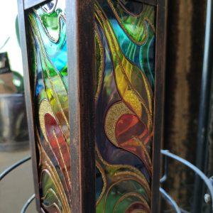 """""""Магнетично"""" - Ръчно рисуван фенер за свещи"""