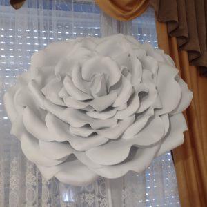 Голяма роза лампа