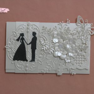 Луксозен плик за сватба