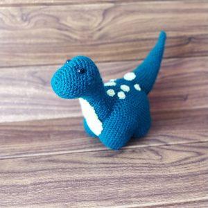 Плетена играчка Динозавър