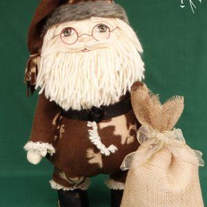 Дядо Коледа – текстилна кукла