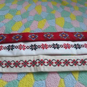 Бродирани колани за народни носии