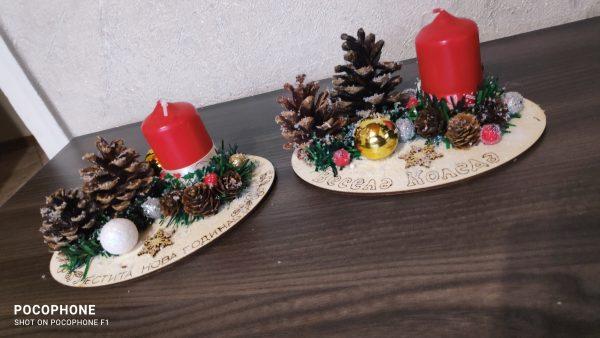 Коледен свещник